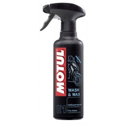 E1 Wash & Wax 400ml