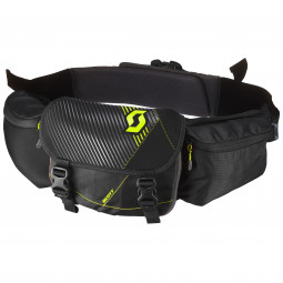 hipbelt RACE DAY black/neon yellow